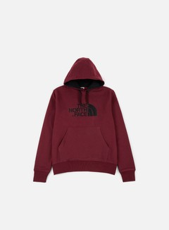 The North Face - Drew Peak Hoodie, Red Dark Heather 1