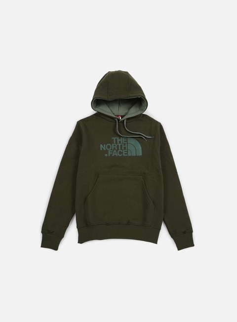 felpe the north face drew peak hoodie rosin green