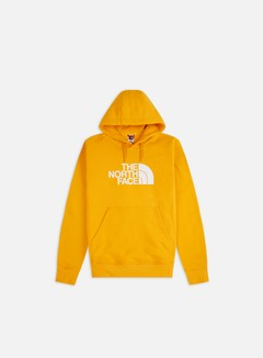 The North Face - Drew Peak Hoodie, Summit Gold/TNF White