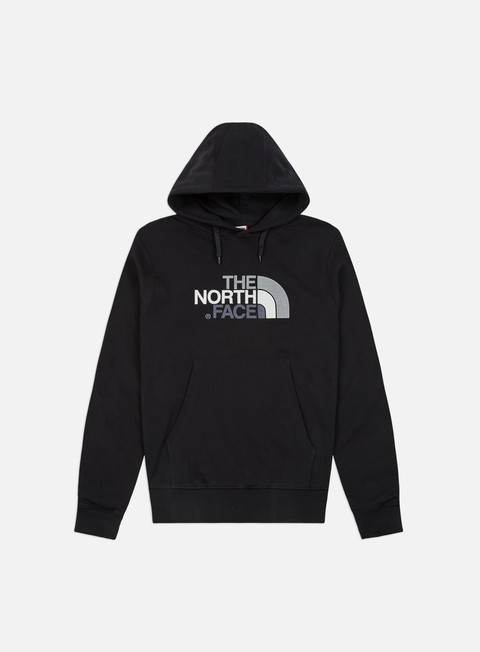 felpe the north face drew peak hoodie tnf black