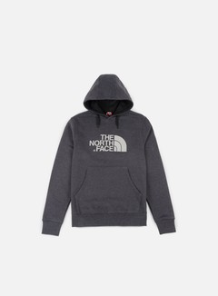 The North Face - Drew Peak Hoodie, TNF Dark Grey Heather/Silver Reflective