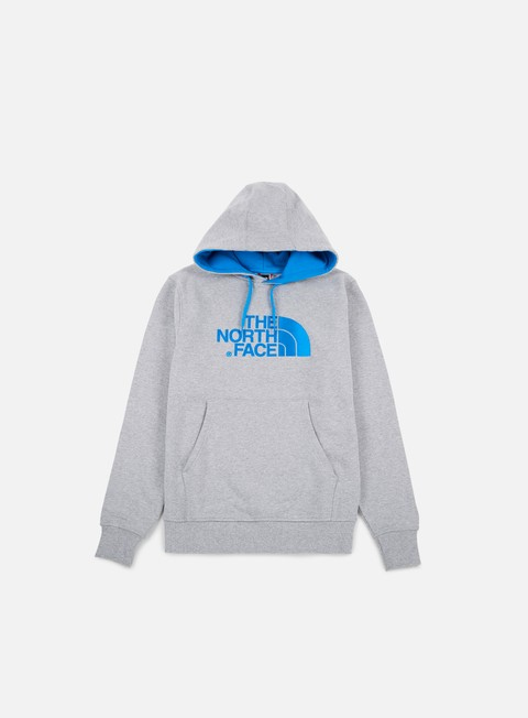 felpe the north face drew peak hoodie tnf light grey heather