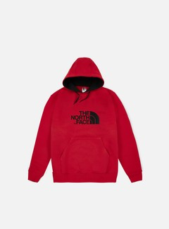 The North Face - Drew Peak Hoodie, TNF Red/TNF Black 1