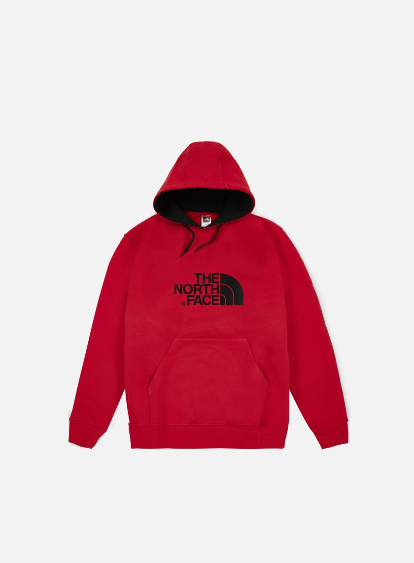 The North Face - Drew Peak Hoodie, TNF Red/TNF Black