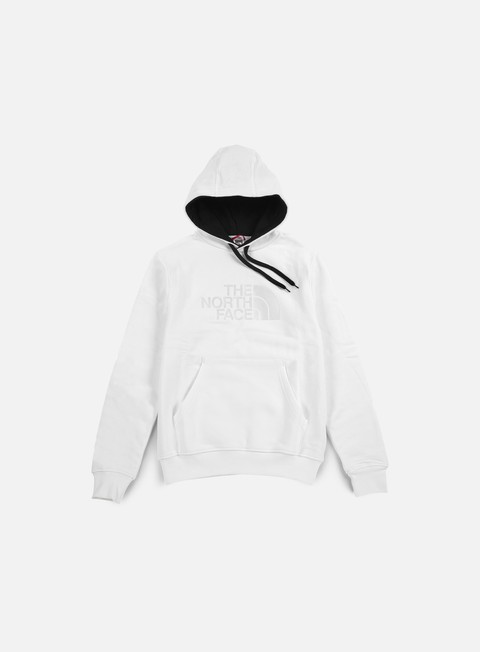 felpe the north face drew peak hoodie tnf white