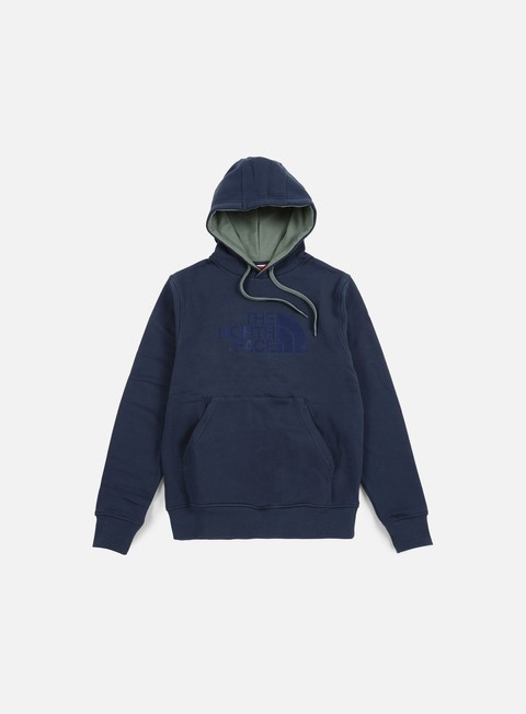 felpe the north face drew peak hoodie urban navy