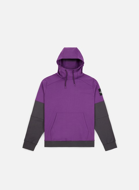 felpe the north face fine box hoodie tillandsia purple
