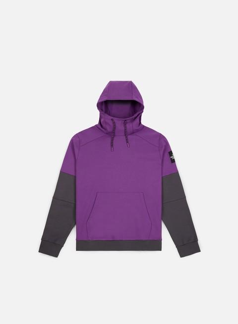 felpe the north face fine box hoodie tillandsia purple