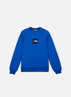 The North Face - Fine Crewneck, Bright Cobalt Blue