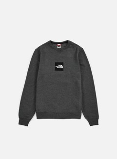The North Face - Fine Crewneck, Dark Grey Heather 1