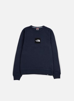 The North Face - Fine Crewneck LHT, Urban Navy 1