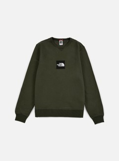 The North Face - Fine Crewneck, Rosin Green 1