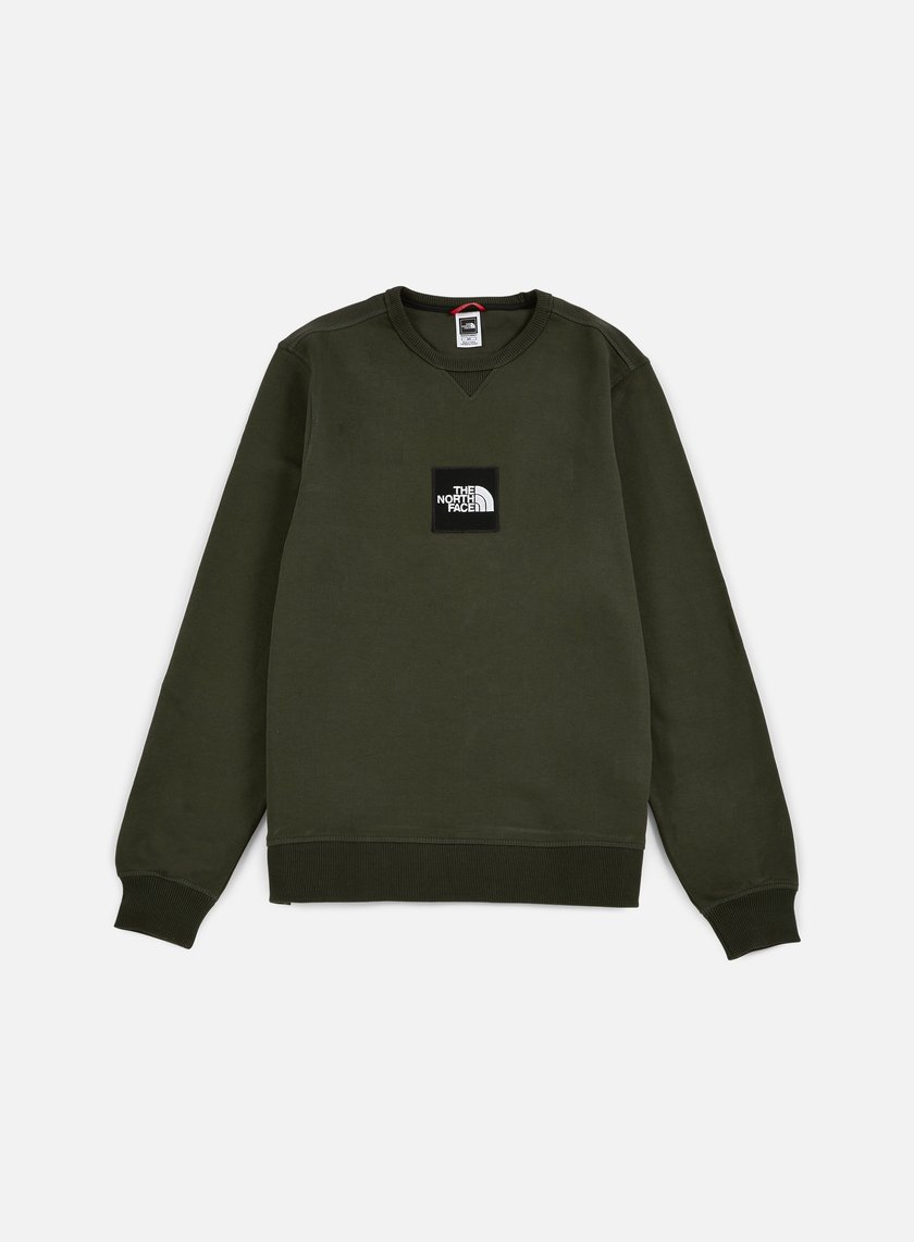 The North Face - Fine Crewneck, Rosin Green