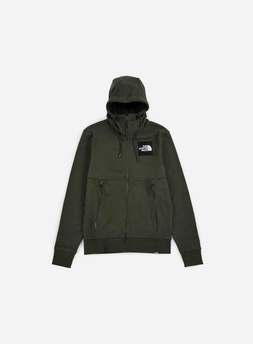 The North Face - Fine FZ Hoodie, Rosin Green
