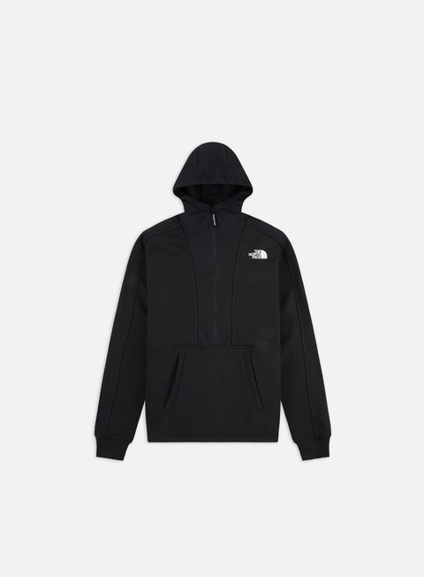 Outlet e Saldi Felpe con Cappuccio The North Face Graphic Zip Hoodie