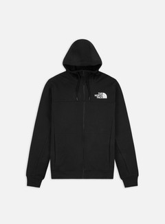 The North Face - Himalayan Full Zip Hoodie, TNF Black
