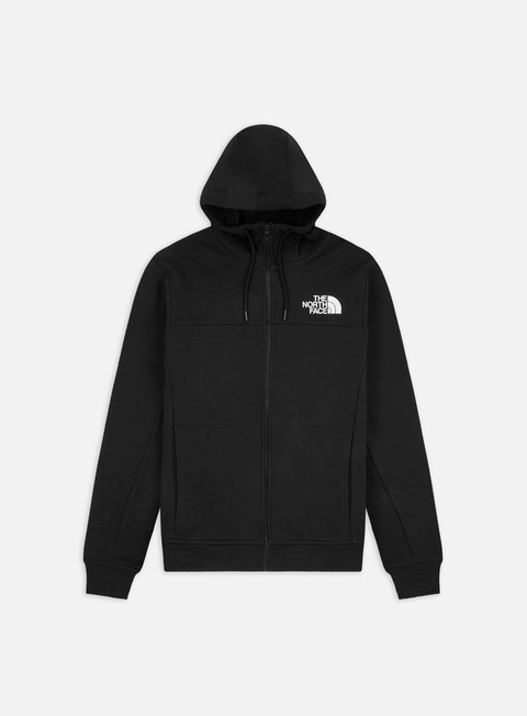 Felpe con Cappuccio The North Face Himalayan Full Zip Hoodie