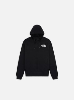 The North Face - Himalayan Full Zip Hoodie, TNF Black/TNF Black