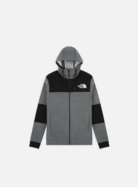 Felpe con Zip The North Face Himalayan Full Zip Hoodie
