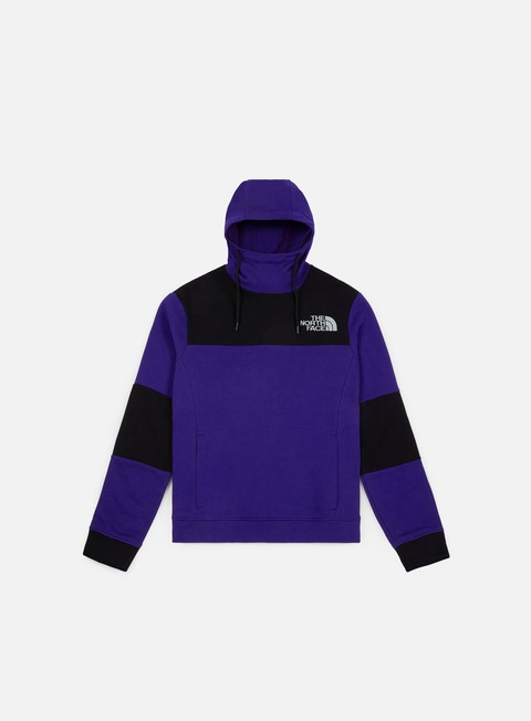 felpe the north face himalayan hoodie lapis blue