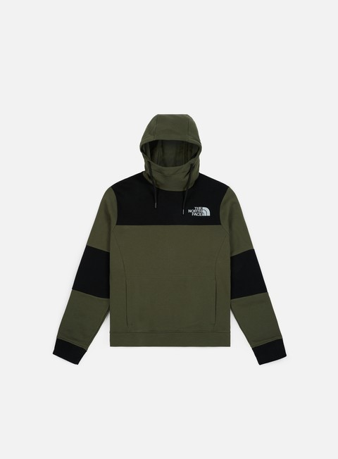 felpe the north face himalayan hoodie new taupe green