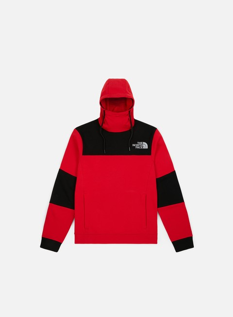 felpe the north face himalayan hoodie tnf red