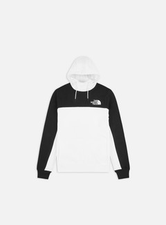 The North Face - Himalayan Hoodie, TNF White/TNF Black