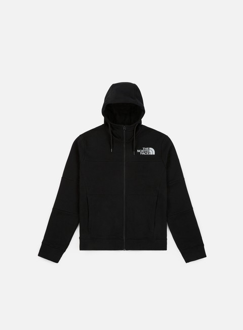 felpe the north face himalyan full zip hoodie tnf black