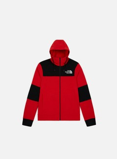 The North Face - Himalyan Full Zip Hoodie, TNF Red