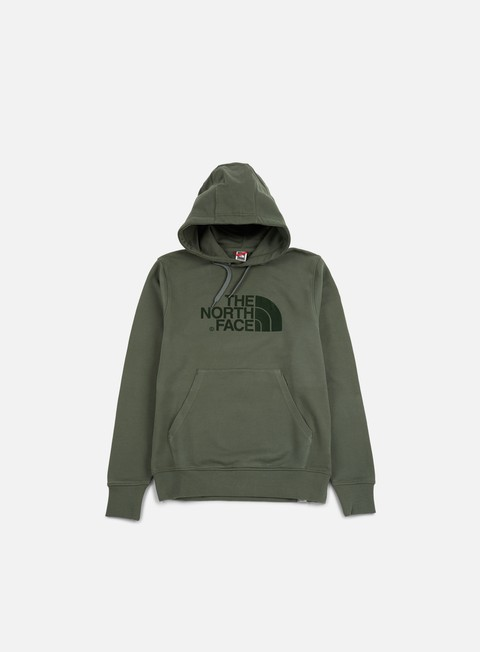felpe the north face light drew peak hoodie thyme