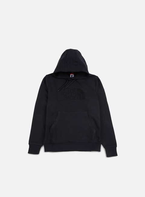 felpe the north face light drew peak hoodie tnf black