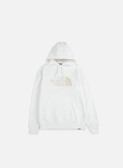 felpe the north face light drew peak hoodie white