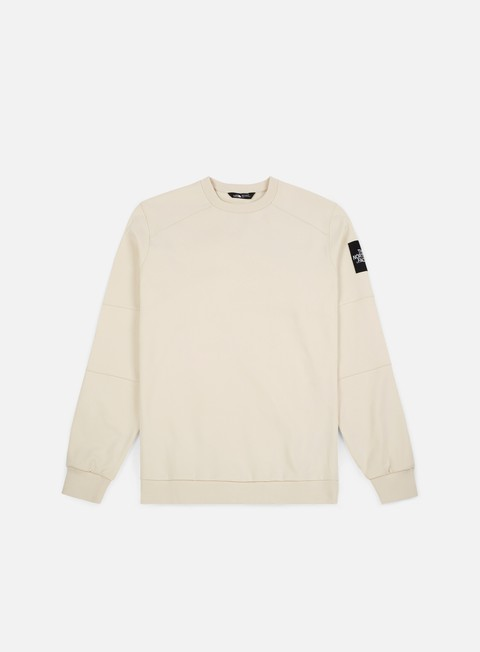 felpe the north face lt fine 2 crewneck vintage white