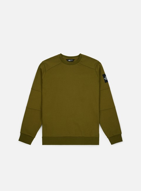 felpe the north face lt fine crewneck fir green
