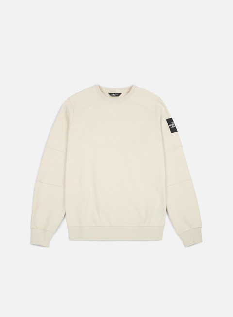 felpe the north face lt fine crewneck vintage white
