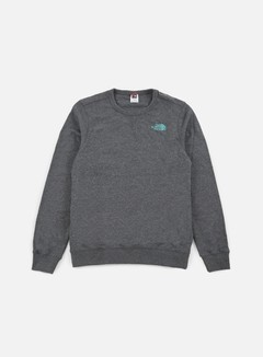 The North Face - Mountain Crewneck, TNF Melange Grey Heather 1