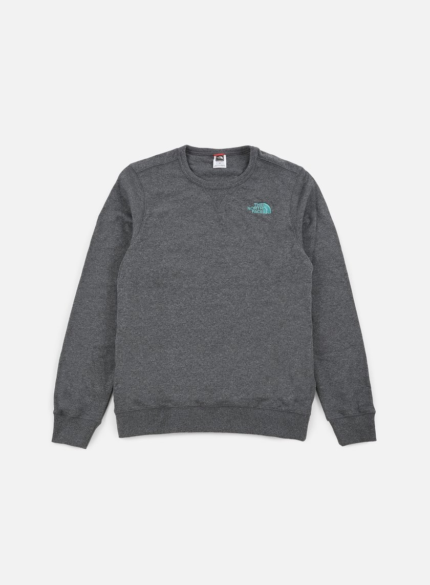 The North Face - Mountain Crewneck, TNF Melange Grey Heather