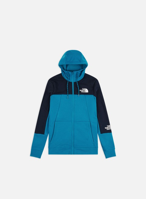 Sale Outlet Zip Sweatshirts The North Face Mountain Lite Full Zip Hoodie