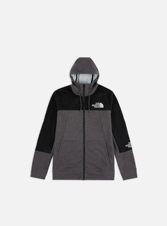 The North Face - Mountain Lite Full Zip Hoodie, TNF Medium Grey Heather