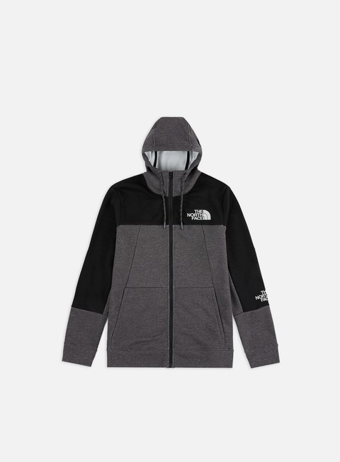 Outlet e Saldi Felpe con Cappuccio The North Face Mountain Lite Full Zip Hoodie