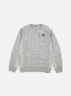 The North Face - Pocket Crewneck, TNF Medium Grey Heather 1