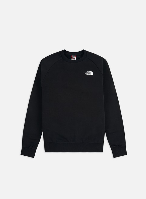 Felpe Girocollo The North Face Raglan Red Box Crewneck