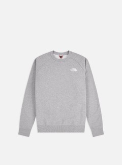 The North Face - Raglan Red Box Crewneck, TNF Light Grey Heather