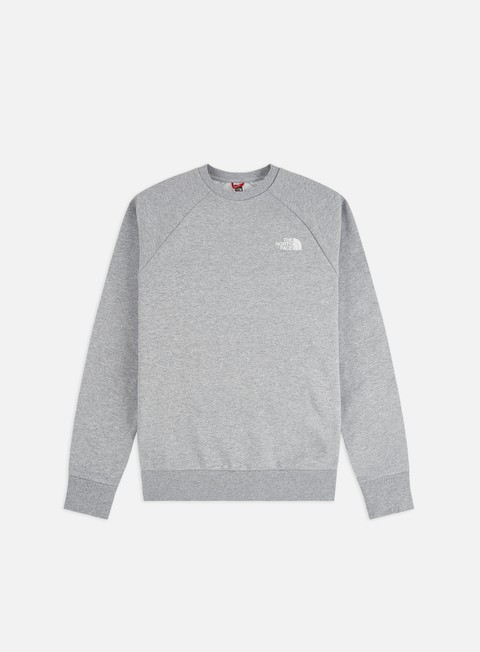 Outlet e Saldi Felpe Girocollo The North Face Raglan Red Box Crewneck