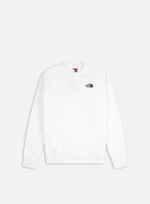 Crewneck Sweatshirts The North Face Raglan Red Box Crewneck