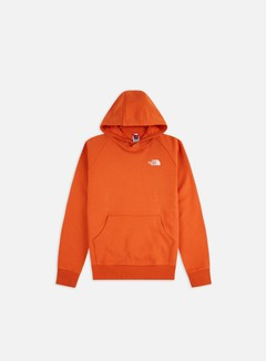 The North Face - Raglan Red Box Hoodie, Burnt Ochre