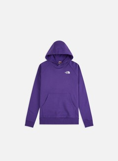 The North Face - Raglan Red Box Hoodie, Peak Purple