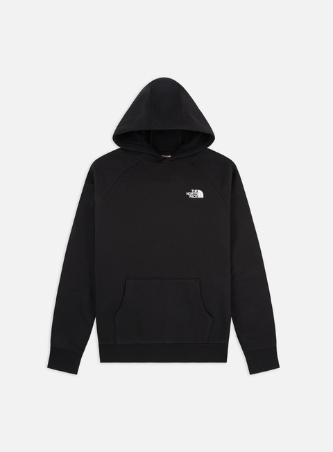 Hooded Sweatshirts The North Face Raglan Red Box Hoodie