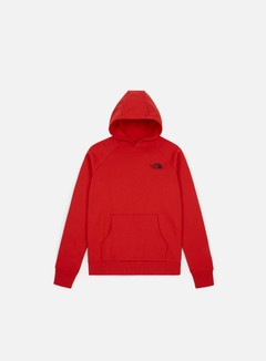 The North Face - Raglan Red Box Hoodie, TNF Red/TNF Black