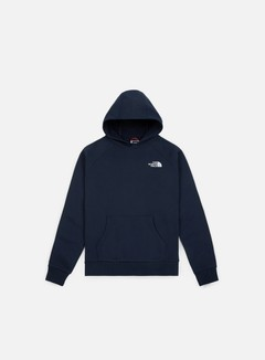 The North Face - Raglan Red Box Hoodie, Urban Navy